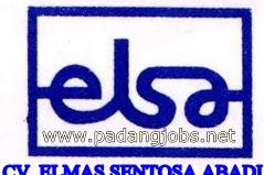 Lowongan Kerja Padang Desember 2017: CV. Elmas Sentosa Abadi