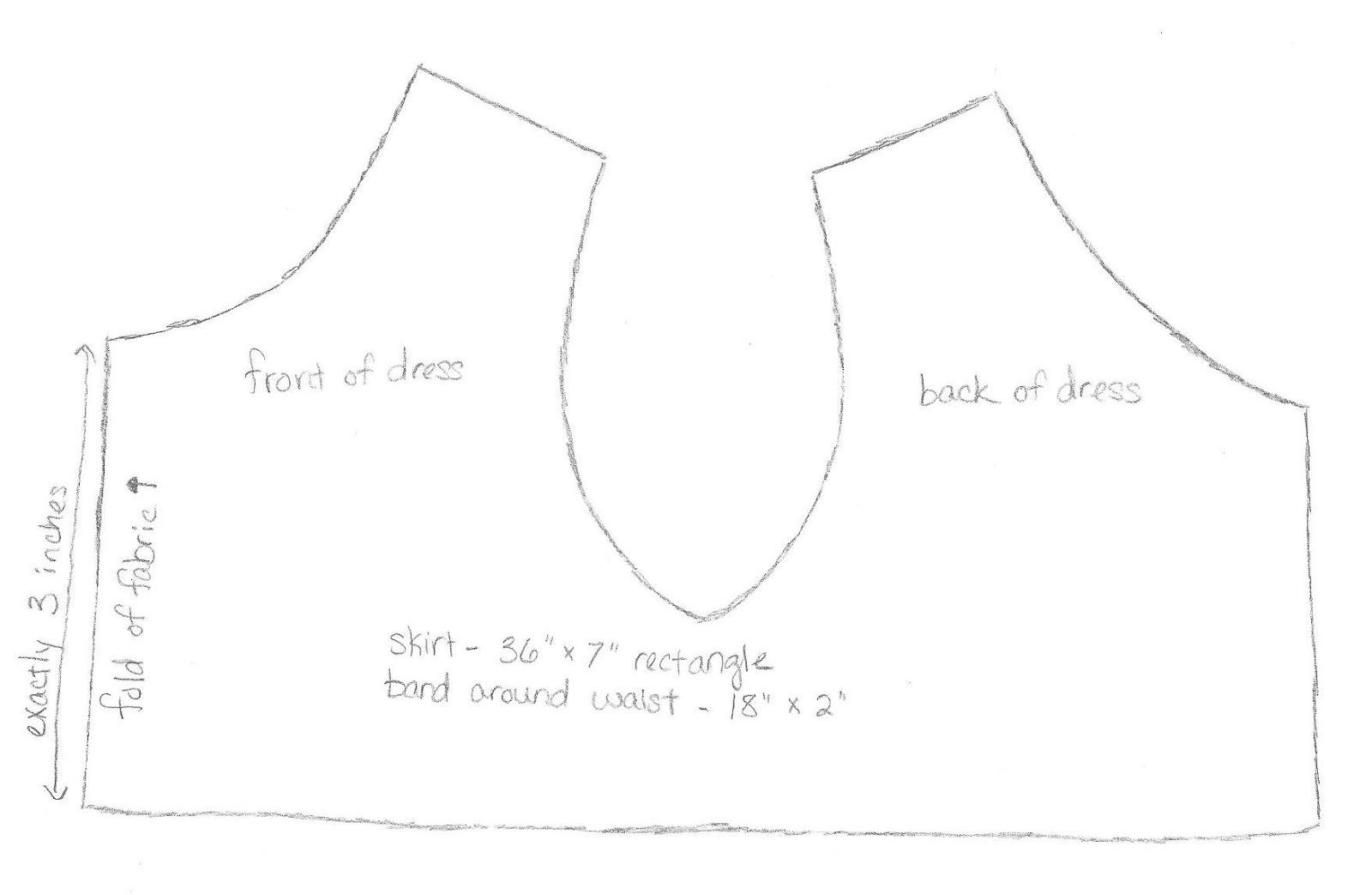 Build A Bear Dress Tutorial