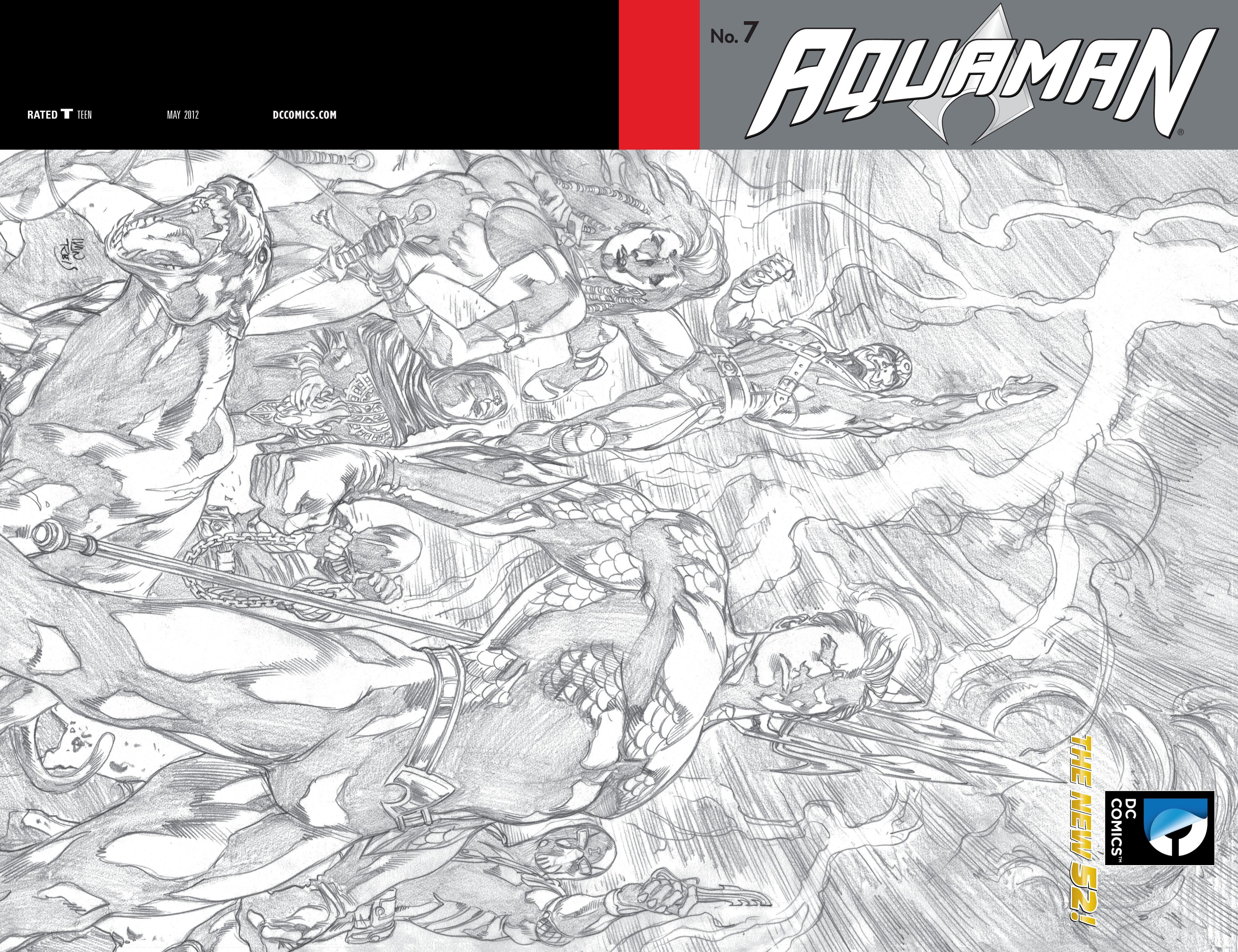Read online Aquaman (2011) comic -  Issue #7 - 2