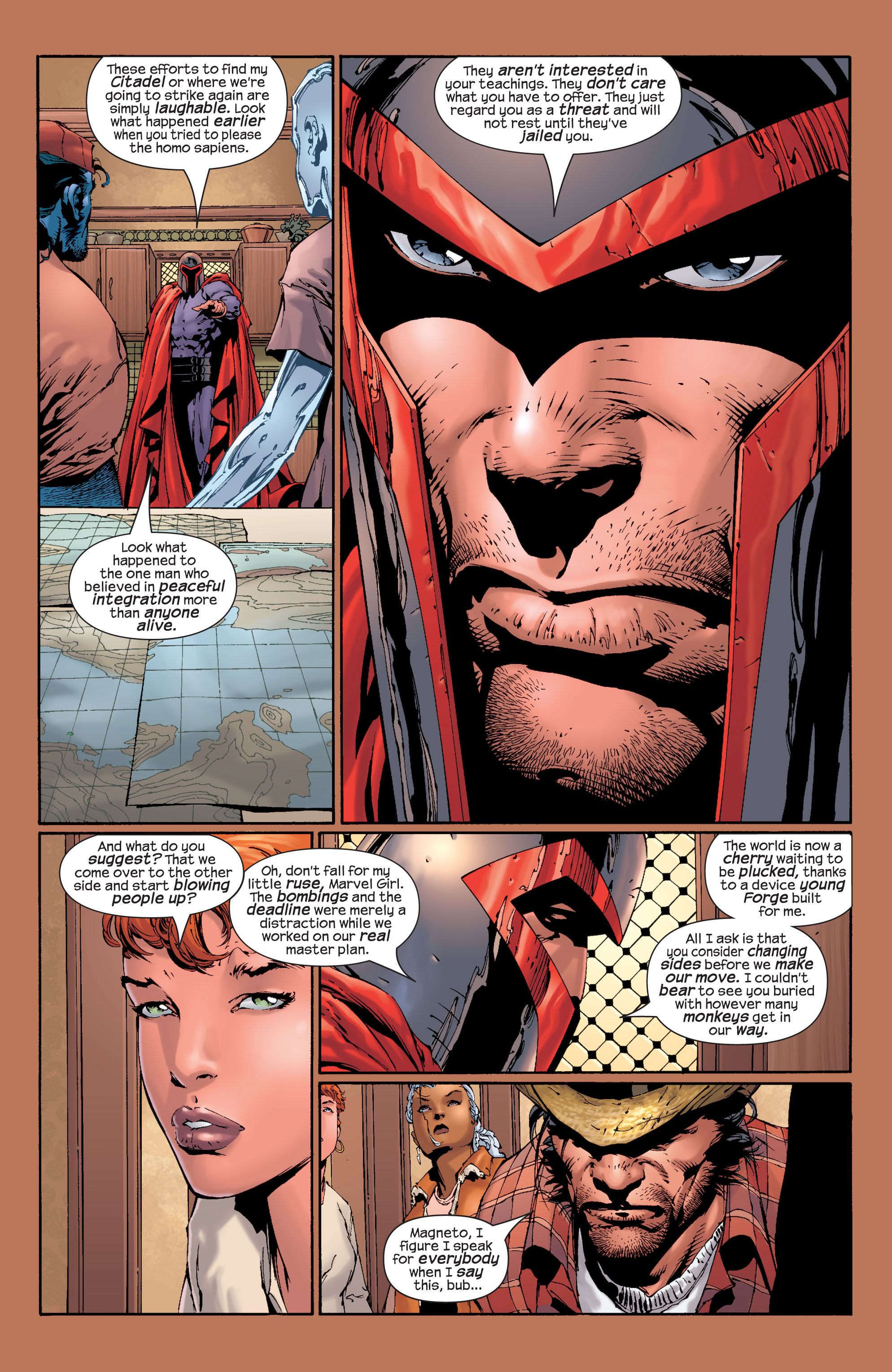 Read online Ultimate X-Men comic -  Issue #28 - 22
