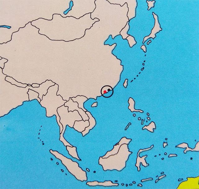 Gambar Peta letak negara Macao