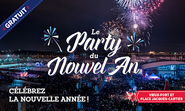 Vieux Port Montréal nouvel an veille