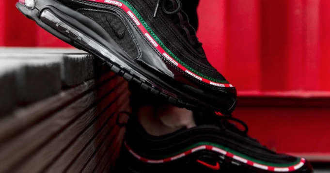 The Real Dwayne : Undefeated x Nike Air Max 97 Black