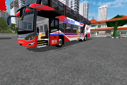 Download Mod BUSSID SR2 Double Decker Cvt BWS