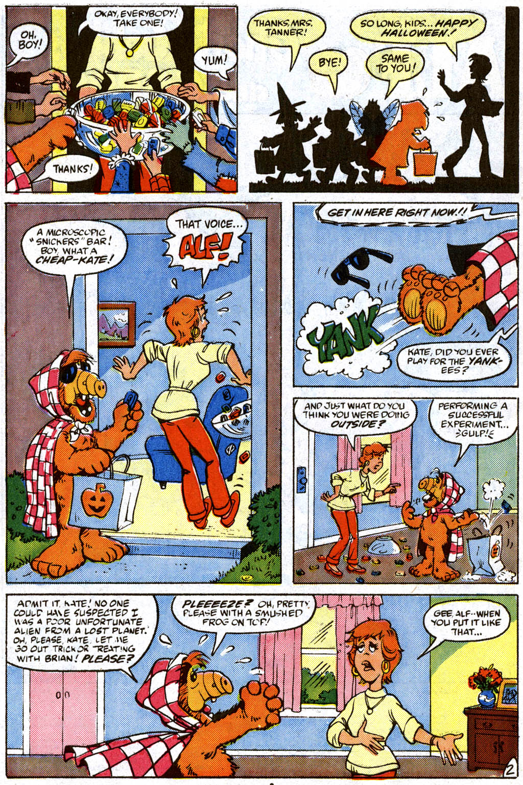 Read online ALF comic -  Issue #11 - 3