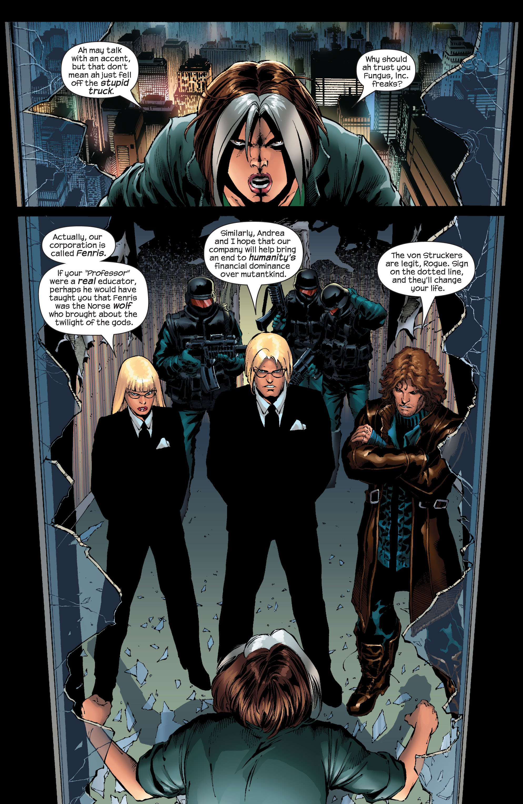 Read online Ultimate X-Men comic -  Issue #52 - 3