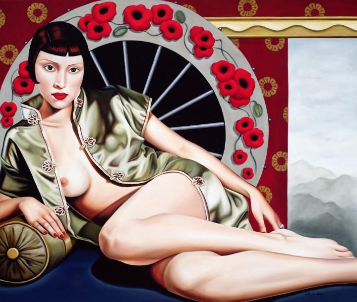 Catherine Abel.  Картины в стиле Арт-Деко