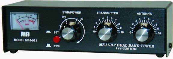 Ilustrasi antena tuner VHF / UHF. Sumber : MFJ Enterprises.. http://www.mfjenterprises.com/Product.php?productid=MFJ-921