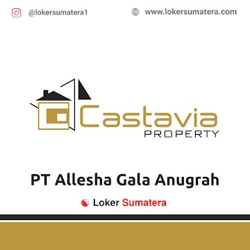 Lowongan Kerja Pekanbaru: PT Allesha Gala Anugrah (Castavia Property) Juni 2021