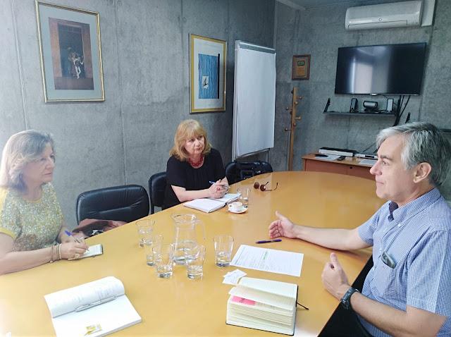 OIT recibe a delegación de dirigentes por despidos masivos de colegas en medios y servicios públicos