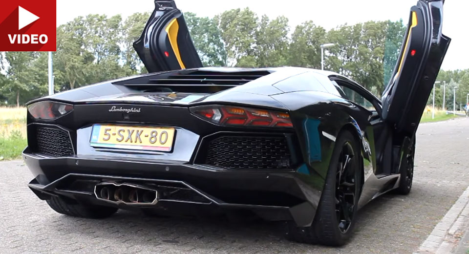 This Capristo-Equipped Lamborghini Aventador Is Heaven On Four Wheels