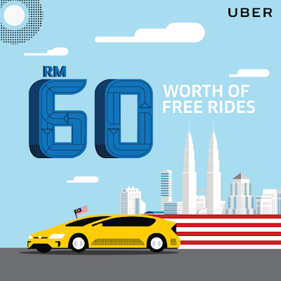 Uber Promo Code Malaysia Merdeka RM60 Free Rides Offer Discount