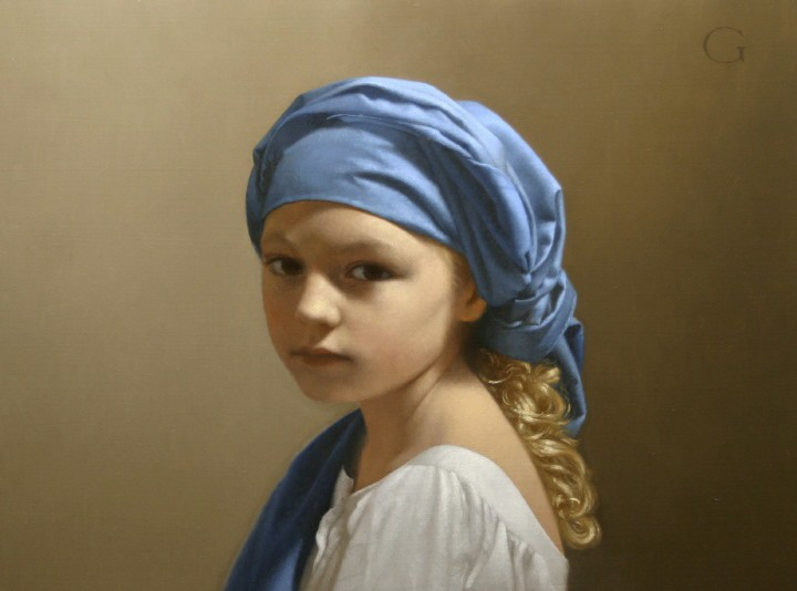 02-Blue-Turban-David-Gray-Lost-in-Thought-Realistic-Oil-Paintings-www-designstack-co