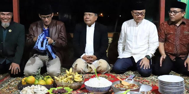 Bicara persatuan umat, Zulkifli Hasan dan Sandiaga Uno temui Ketua Umum Persis