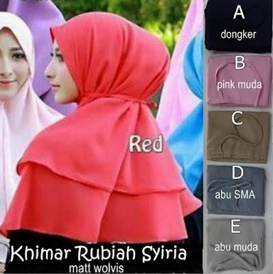 Khimar Rubiah Non Pet