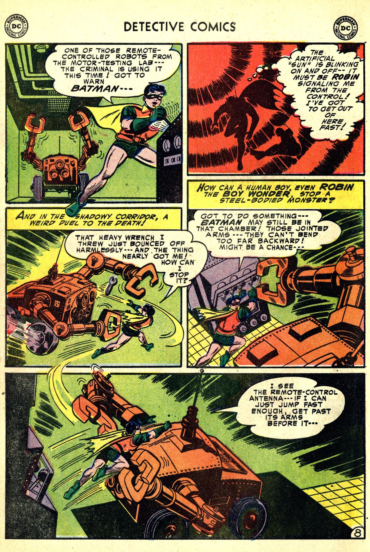 Detective Comics (1937) 208 Page 9
