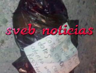 Hallan cuerpo descuartizado con narcomensaje en Lazaro Cardenas Michoacan