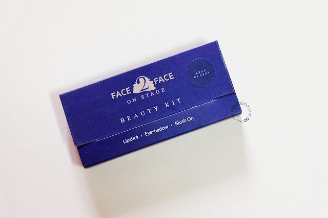 Review : Face2Face Cosmetics On Stage Series by Jessica Alicia