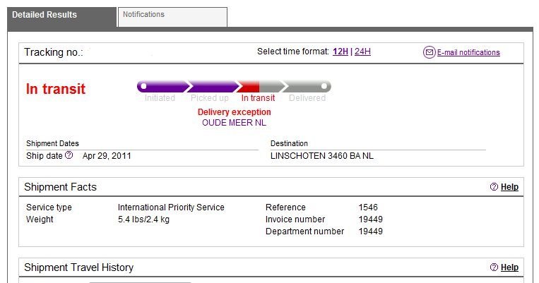 fedex track package by destination address. Black Bedroom Furniture Sets. Home Design Ideas