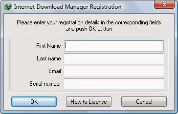 Untuk anda yang sudah menginstall Internet Download Manager  Serial Key Number IDM Update Terbaru
