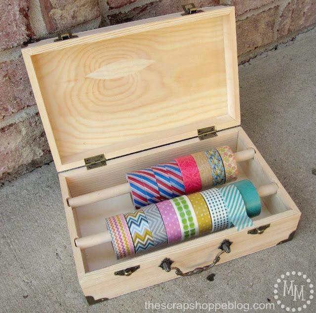 washi tape storage container