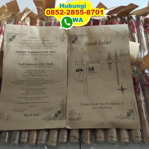 pabrik Undangan bambu eceran 50519