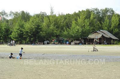 Suasana Indah Pantai Cunang