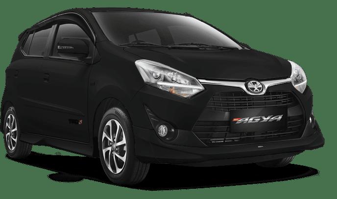 Toyota Agya Hitam