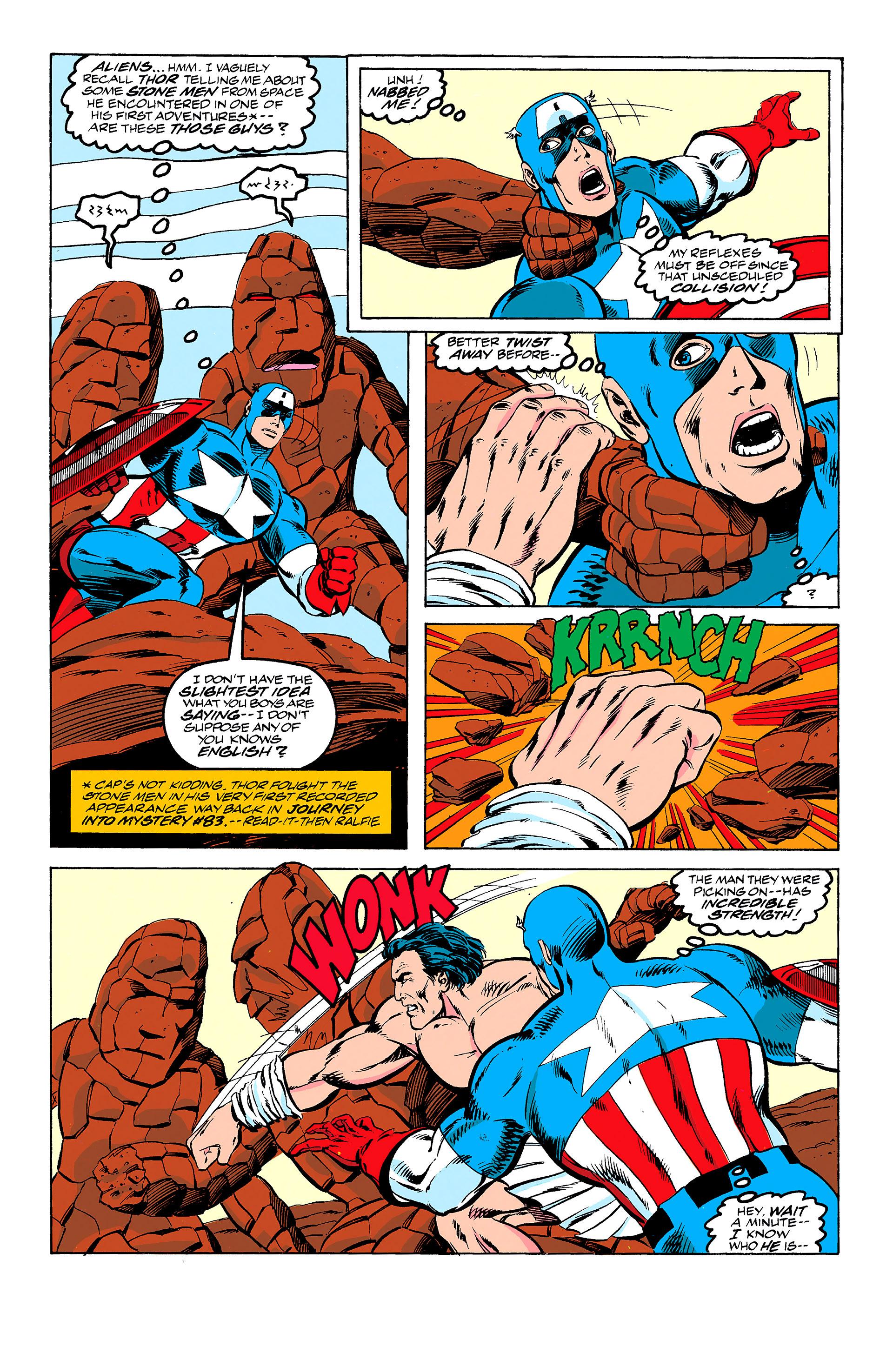 Read online Captain America (1968) comic -  Issue # _Annual 11 - 12
