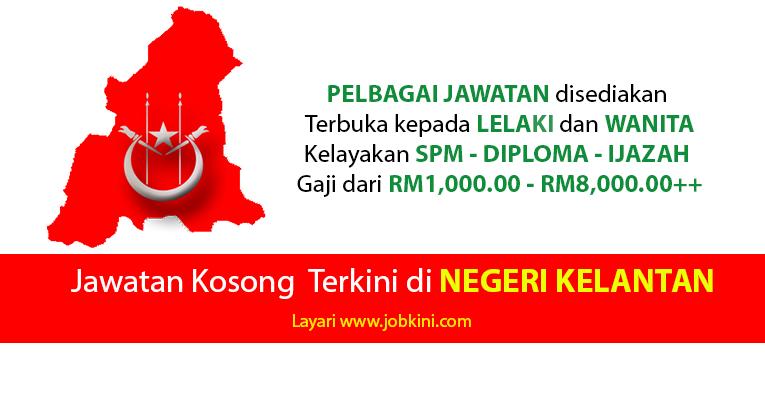 Kekosongan Jawatan Terkini di Negeri Kelantan