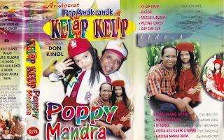 poppy mandra album kelap kelip www.sampulkasetanak.blogspot.co.id