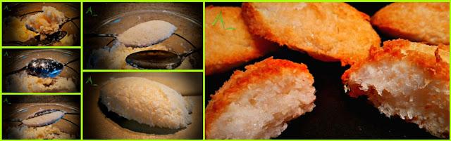 La cuisine de christine rochers la noix de coco for La cuisine de christine