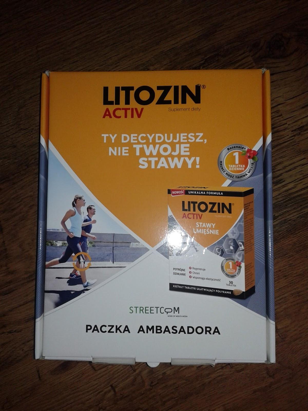 Litozin ACTIV - stawy i mięśnie pod ochroną.