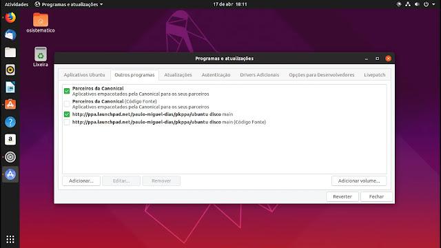 parceiros-canonical-lançamento-linux-ubuntu-disco-dingo-1904-19-04-gnome-shell-yaru-tema