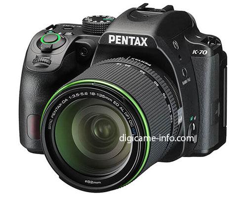 Фотоаппарат Pentax K-70 (черный)