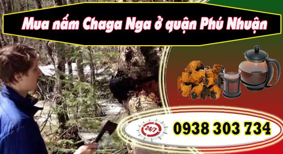 Mua nấm Chaga Nga ở quận Phú Nhuận