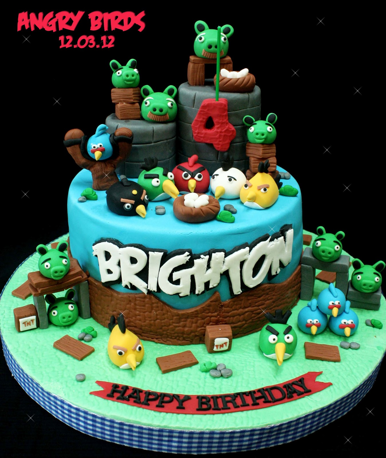 Angry Birds Cake Cake Ideas And Designs