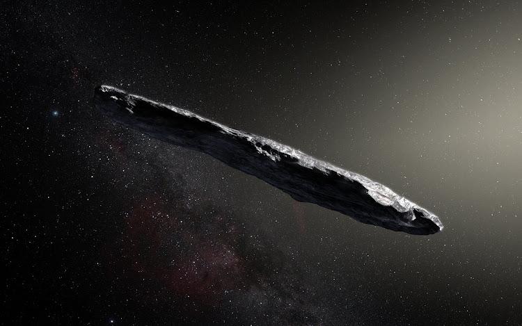 Первый межзвездный астероид