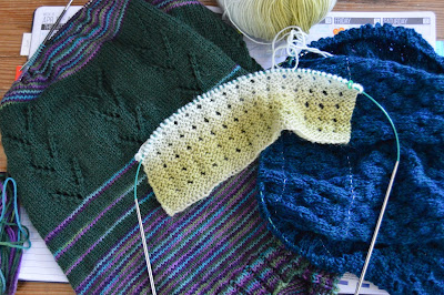 knitting projects, cowl, scarf, shawl for sale at https://www.etsy.com/shop/jeanniegrayknits