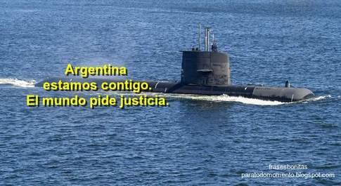 Argentina estamos contigo y el mundo pide justicia.