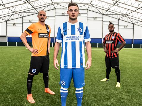 Nike Brighton and Hove Albion 14-15 Kits Released - Footy Headlines bb40878d2