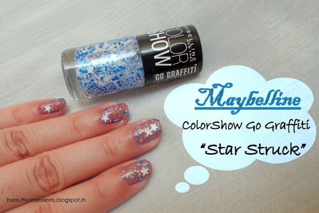 "Draw Your Nails With The New Maybelline ColorShow Go Graffiti Nail Polish ""Star Struck """