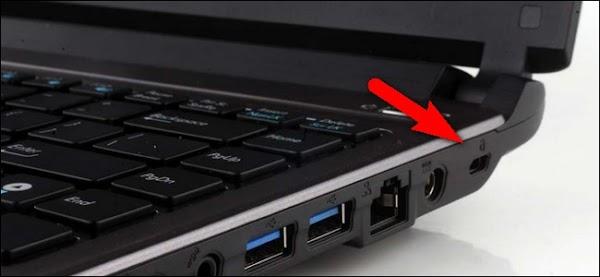 सिक्योरिटी स्लॉट से चोरी होने से बचायें लैपटॉप - How to Use Your Laptop Kensington Security Slot