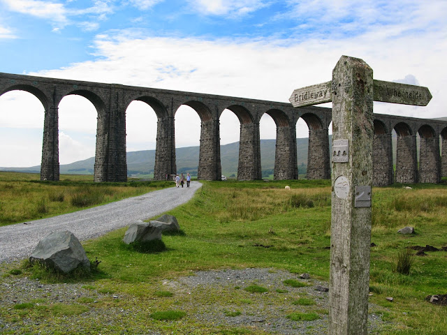 The iconic Ribblehead Viaduct in the Yorkshire Dales