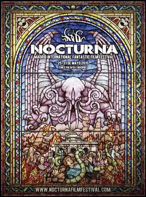 Cartel oficial del festival Nocturna 2015