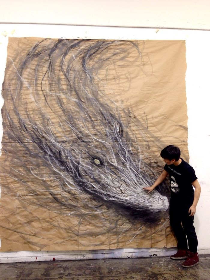 01-Dragon-Fiona-Tang-2D-Sketches-that-Become-3D-Animals-www-designstack-co