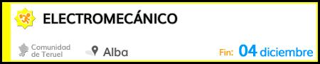 Electromecánico en Alba del Campo