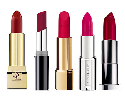 ysl, make up factory, chanel, givenchy, maybelline lipstick
