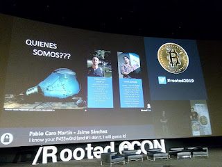RootedCon 2019 - Pablo Caro Martín y  Jaime Sánchez - I know your password (and if not I will guess it)