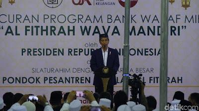 Presiden Jokowi Luncurkan Bank Wakaf Mikro di Surabaya - Info Presiden Jokowi Dan Pemerintah